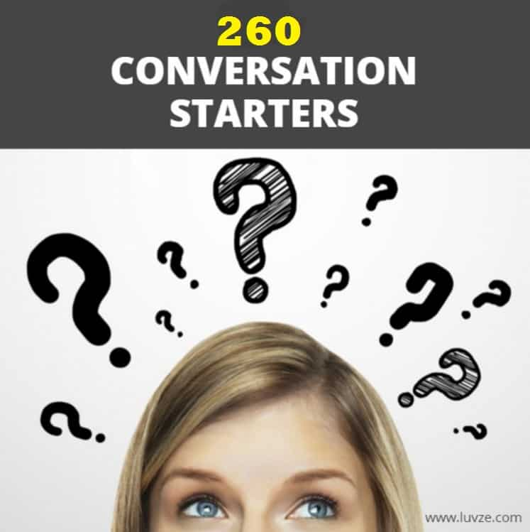Conversation Starters: Topics To Talk About