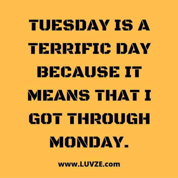 Have a TERRiFiC TUESDAY amp learn about Tuesdays history