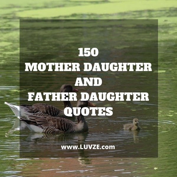 Mother Daughter & Father Daughter Quotes