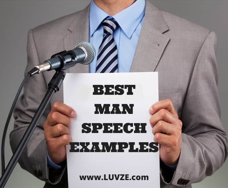 Best Man Template And Speech Examples
