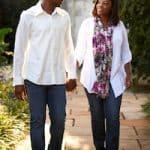 Men Slowly Stroll Down Lover's Lane