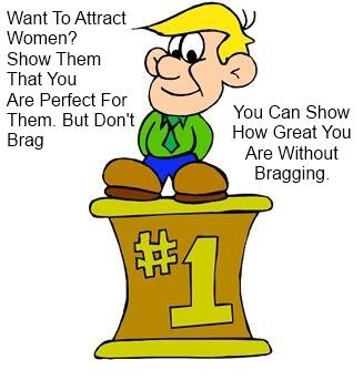 why do men brag