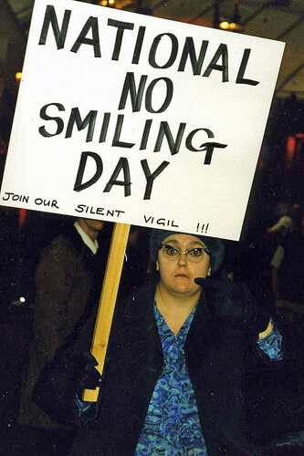 Smile: It Will Help You Feel More Positive!  Photo By Alan Cleaver CC-BY via Flickr