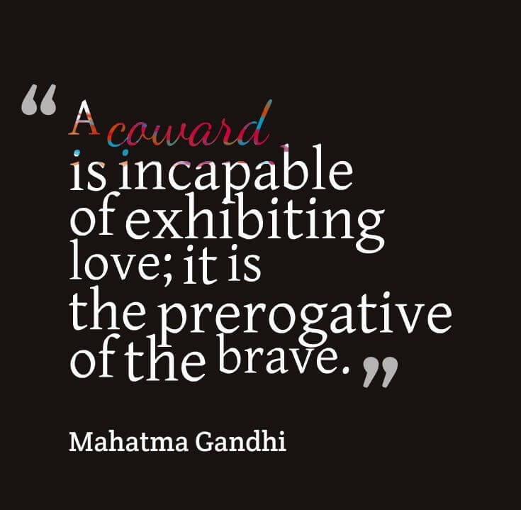 Mahatma Gandhi Love Quote
