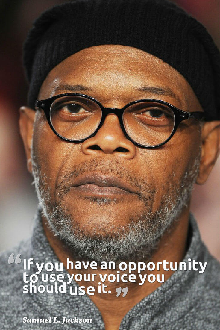 Samuel L Jackson Quote To Remember
