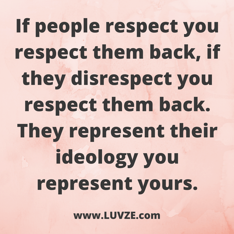 115 Respect Quotes and Self-Respect Sayings & Messages