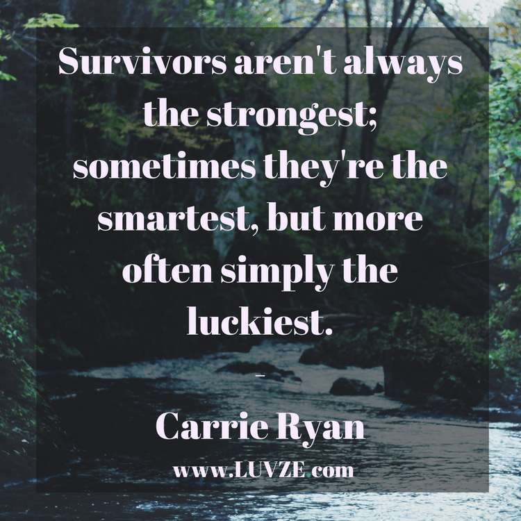 120 Survival Quotes And Sayings