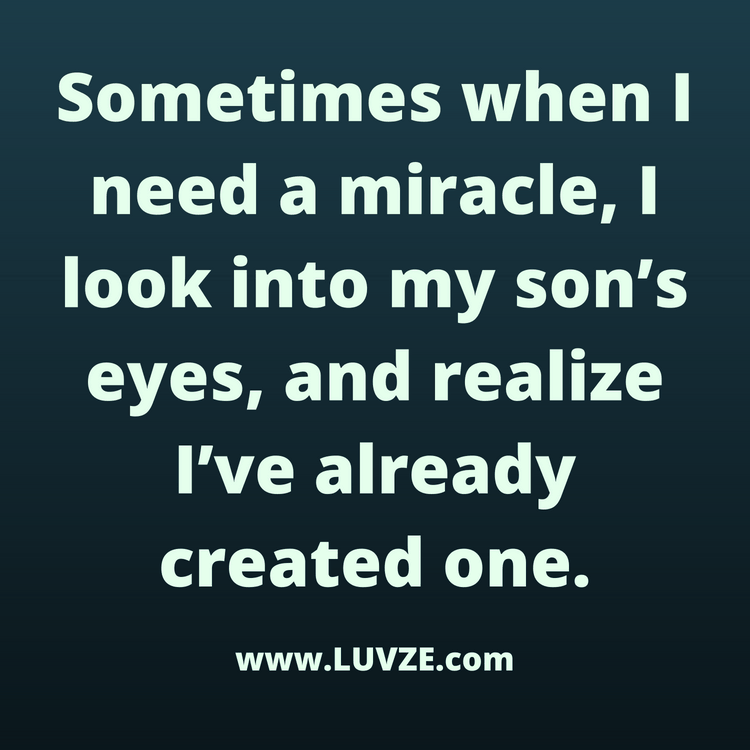 90 Cute Mother Son Quotes and Sayings