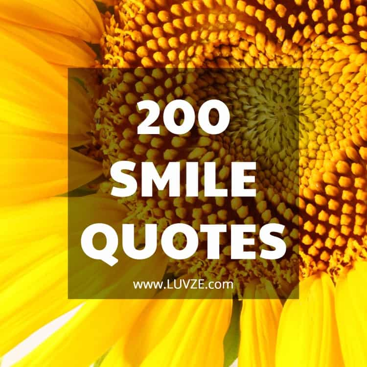 200 Smile Quotes To Make You Happy And Smile