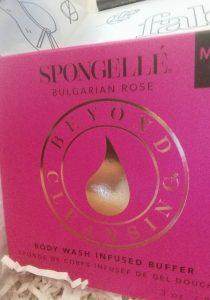 Spongellle Bulgarian Rose Fabfitfun Box