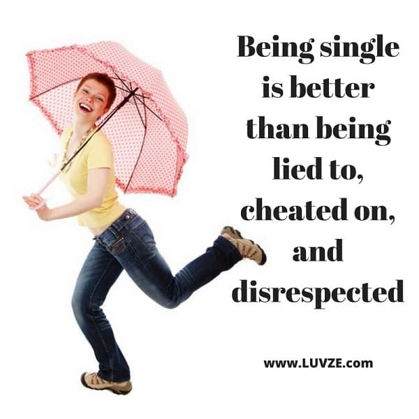 Single Quotes Glamorous Single Quotes 70 Quotes And Sayings For Singles