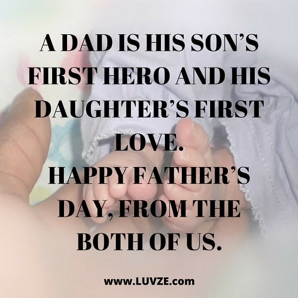 Image of: Daddy Fathers Day Quote Heavycom 100 Happy Fathers Day Quotes Sayings Wishes Card Messages