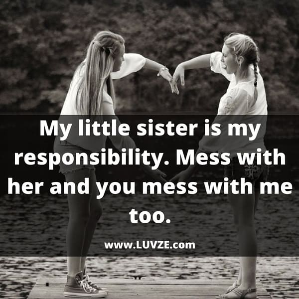 110 Cute Sister Quotes and Sayings