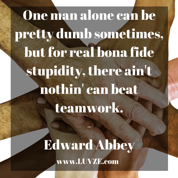 Dating someone in the military quotes on teamwork