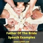 father of the bride speech examples