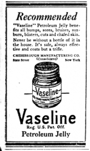 Is vaseline a good lubricant