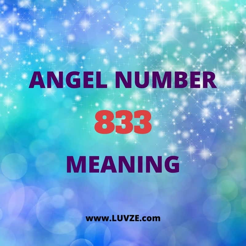 Angel Number 833 Meaning