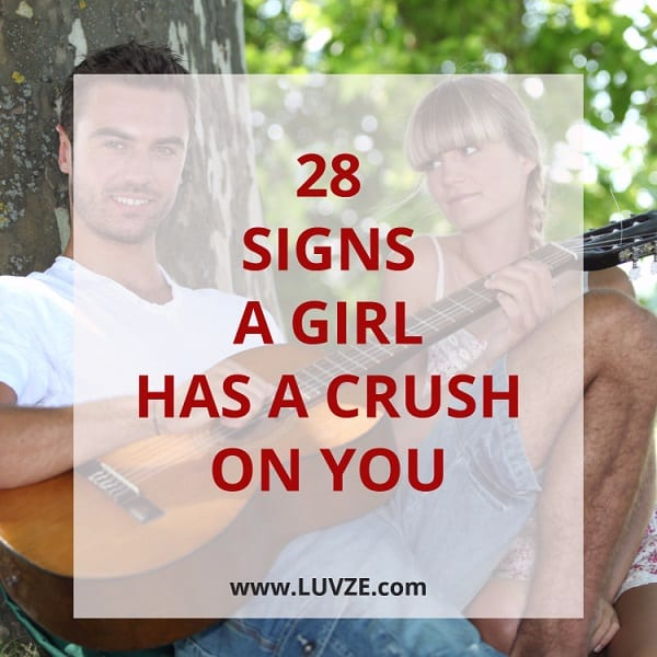 signs that a girl likes a guy