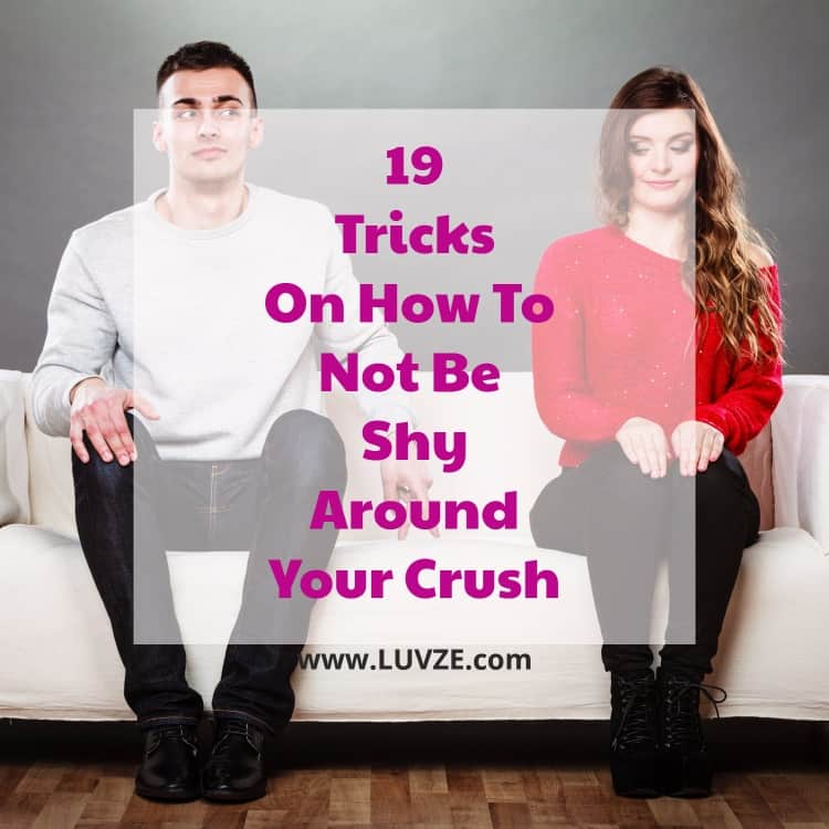 How to make yourself not shy anymore