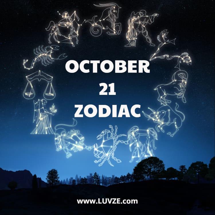 October 21 Zodiac Birthday Horoscope Personality Compatibility