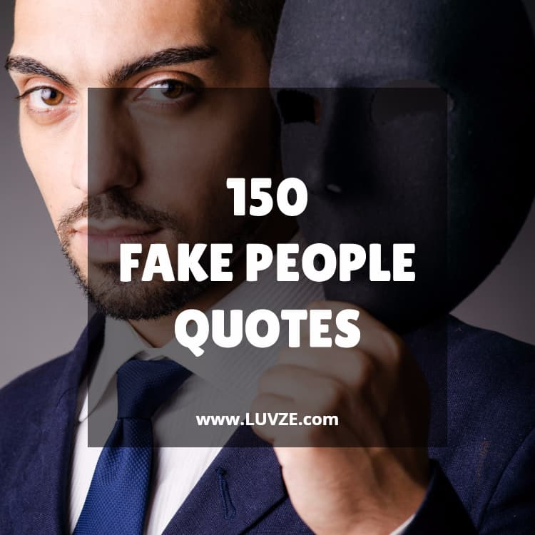 150 Fake People Fake Friend Quotes With Images