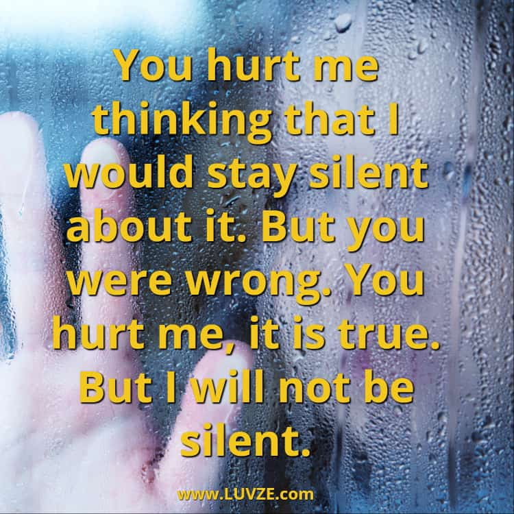 140 Being Hurt Quotes Messages Sayings With Beautiful Images