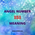 angel number 151 meaning
