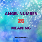 angel number 26 meaning