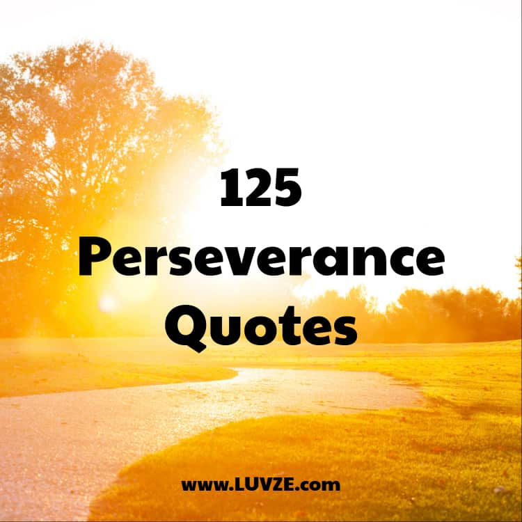 125 Perseverance Quotes And Saying To Not Give Up