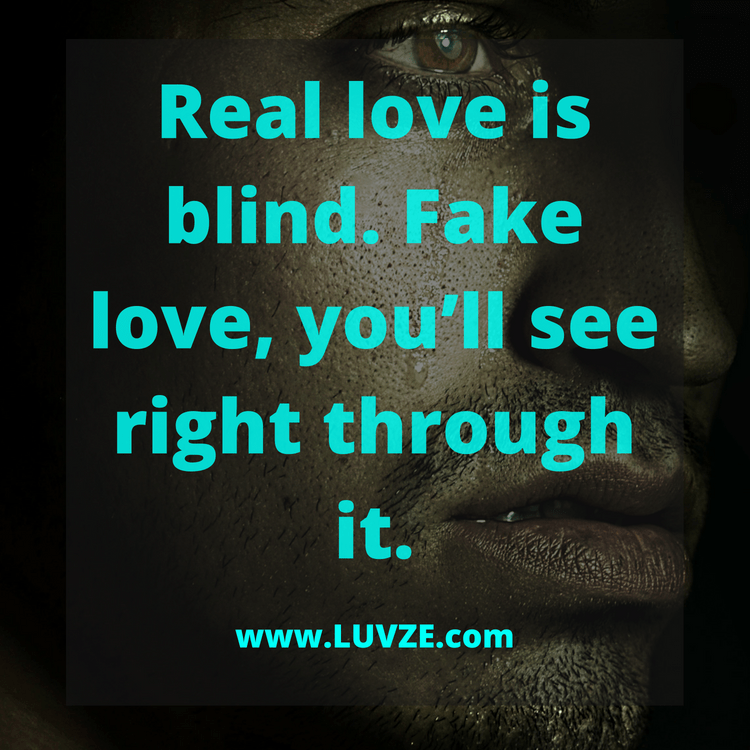 Love Is Fake Quotes Gorgeous 48 Fake Love Quotes And Sayings