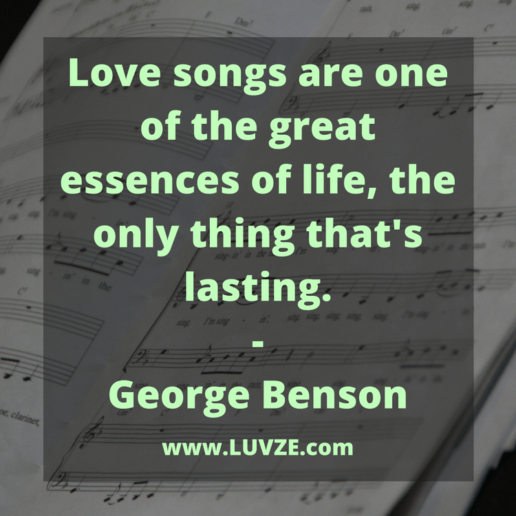 100+ Best Love Song Quotes