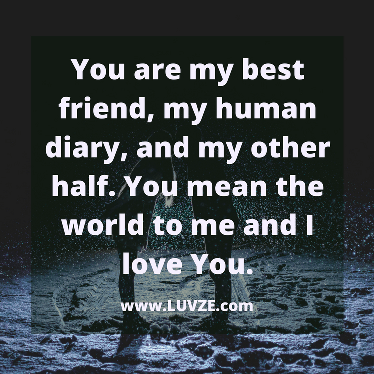 115 You Mean The World To Me Quotes, Sayings And Messages