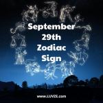 september 29 zodiac sign