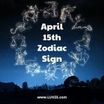 April 15 zodiac sign