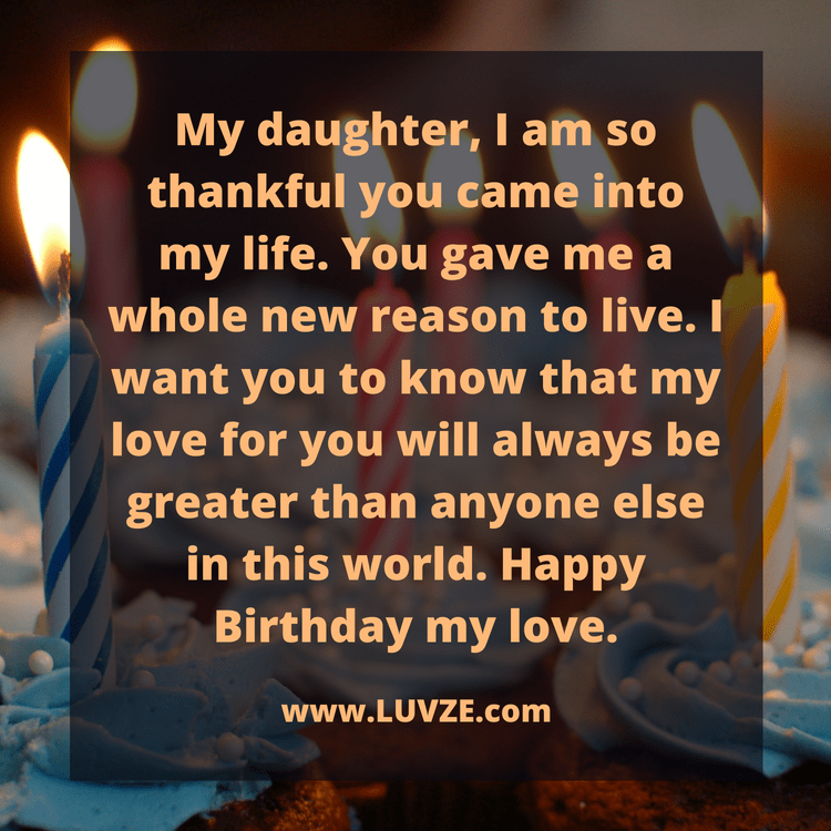 Daughter Birthday Quotes | 100 Happy Birthday Wishes For Daughters With Beautiful Images