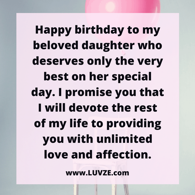 Birthday Wishes For Daughters