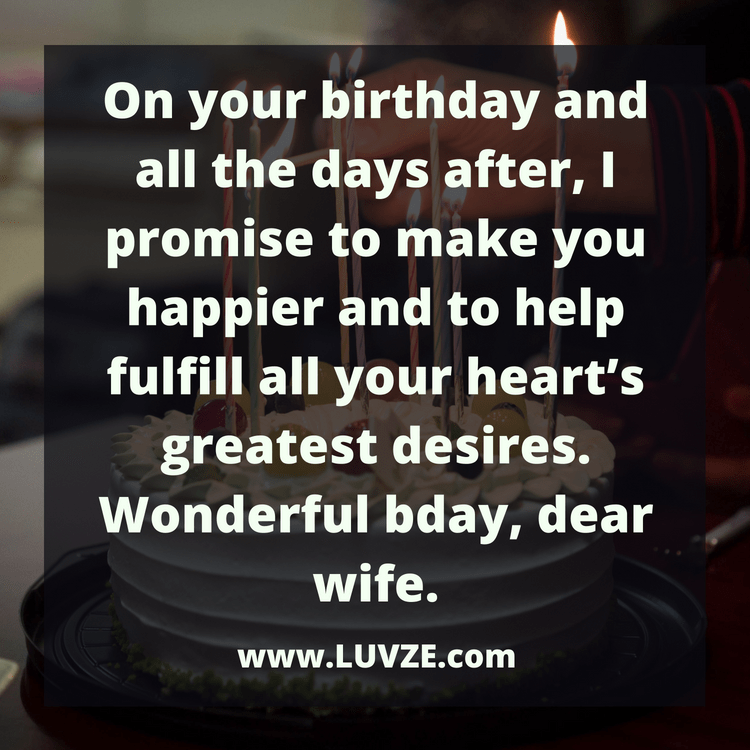 100 Happy Birthday Wishes For Your Wife With Beautiful Images