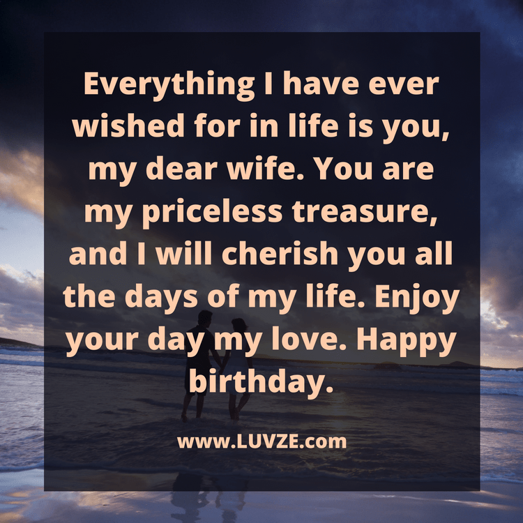Enjoy Your Day My Love Happy Birthday Wishes For Wife