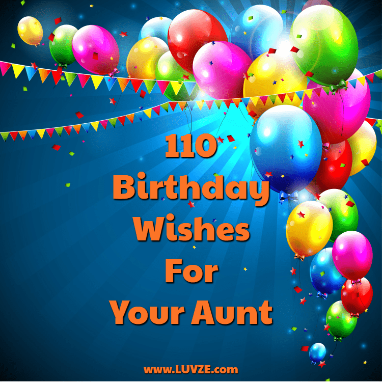 Happy Birthday Aunt 110 Wishes Messages With Images