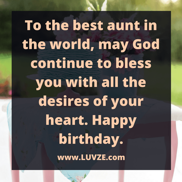 Happy Birthday Aunt: 110 Birthday Wishes & Messages With