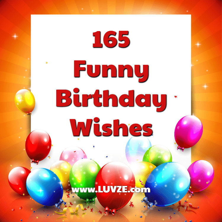 165 Happy Birthday (Funny)