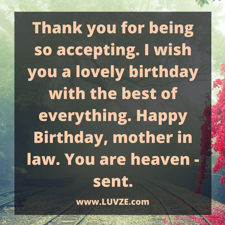 happy birthday wishes for mother in law in my life i love you more sign happy birthday mother in law. 33. Itu0027s your birthday ...