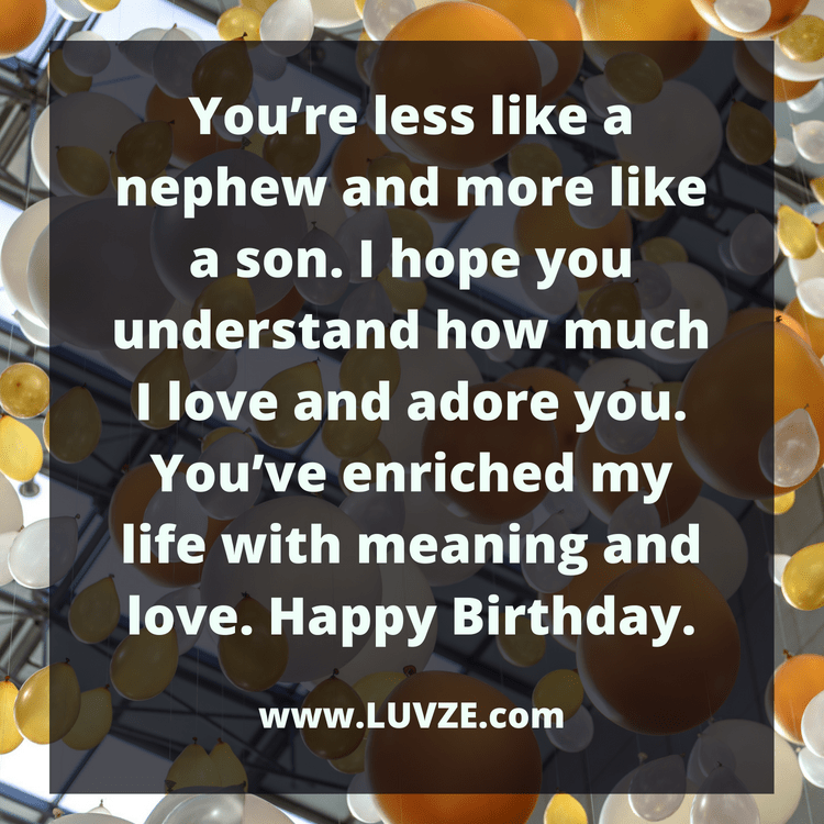 Happy Birthday Nephew: 120 Birthday Wishes and Messages