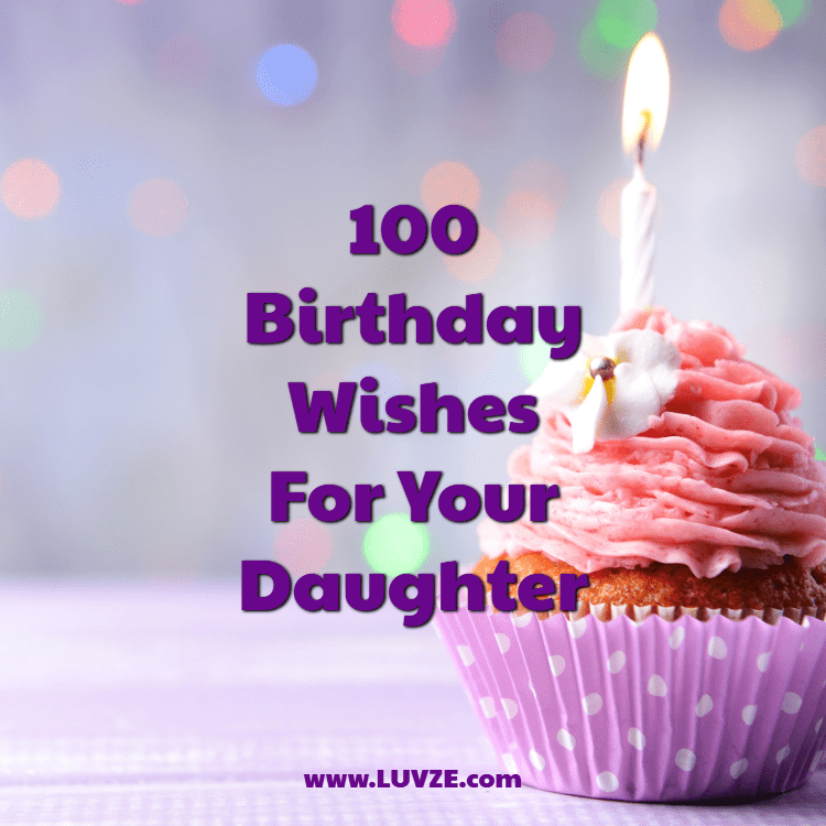 Happy Birthday Wishes For Daughters