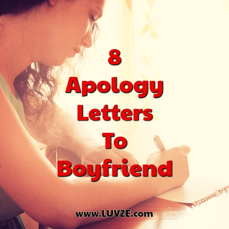 Apology Letter to Boyfriend: Tips on How to Write it & Example Letters
