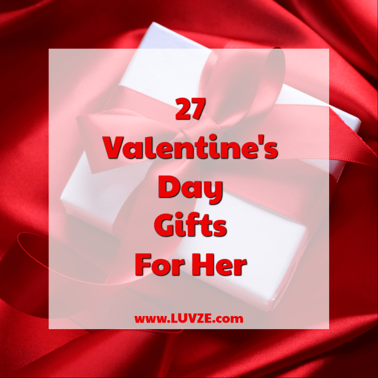 9effcf2912370 27 Best Valentine s Day Gifts for Her  Great Ideas for Your Wife ...