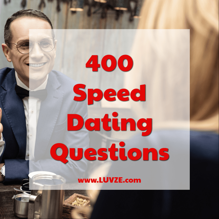 best speed dating questions