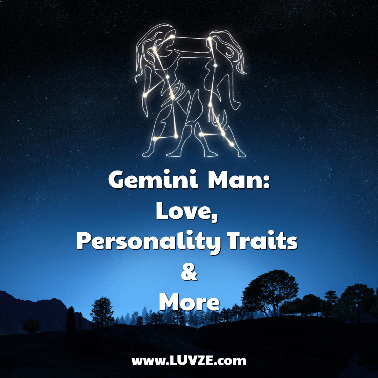 A Gemini Mans Birthday Falls From 22nd May To 21st June And Mercury Is His Governing Planet Geminis Constellation Depicts Set Of Twins